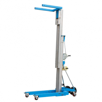 LGA_manual aluminium work platform 8 m high