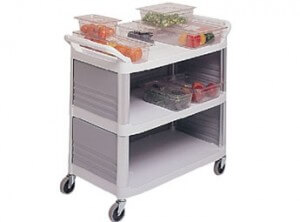 Rubbermaid-food-trolley