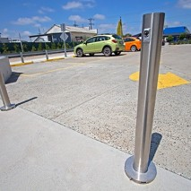 surface mount bollard - 316 Stainless stee