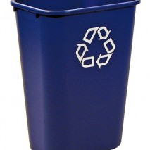 2957-73 Deskside Recycling Container, Large with Universal Recycle Symbol