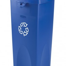 3569-73 Untouchable® Square Recycling Container
