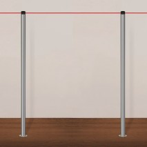 In-Floor Gallery Barrier