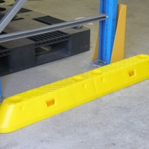 LLDPE pallet racking end guard