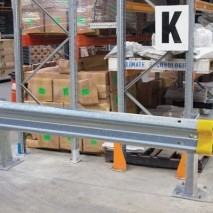 Minimise damage to racking from forklifts