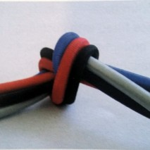 100 metre elasticated cord rolls available in four colours.