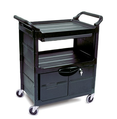3457 Utility Cart with Lockable Doors (2)