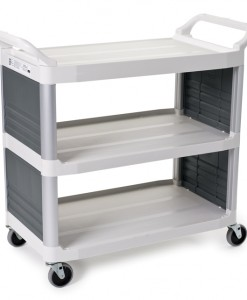 4092 Utility Cart with Enclosed End Panels on 2 Sides