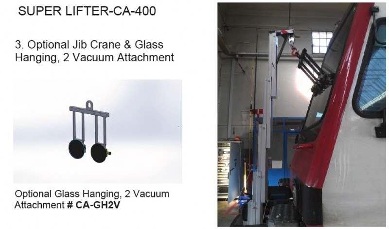 CA-400 Option Jib Crane