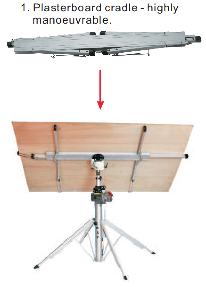 CM option - Platerboard Cradle