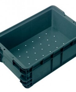 IH024 Crate with Solid Sides and Vented Base