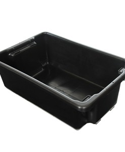 IH060D CRATE 32LT SOLID, BLACK RECYCLED