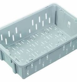 Nally IH016 23 L Vented Stack and nest Meat crate
