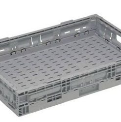 Returnable Folding Plastic Crate 12litre