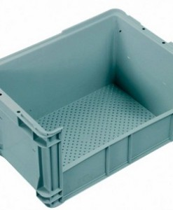 Vented Base Auto Crate with Side Access IH027