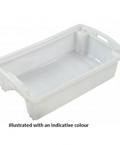 IH035 - Stack & Nest Vented Plastic Container