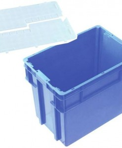 IH2760 78L SECURITY LID CONTAINERS WITH WINGED LID
