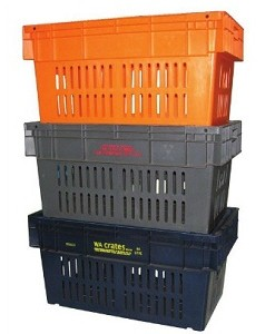 NALLY IH518 84Lt Vented Crate 740 x 422mm