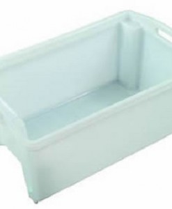 55ltr Aquaculture Vented Base Plastic Crate