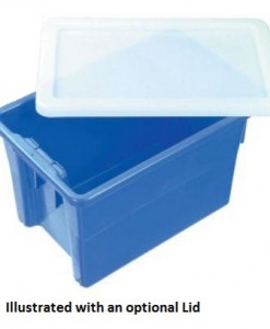 Nally IH078 68ltr Plastic Crate