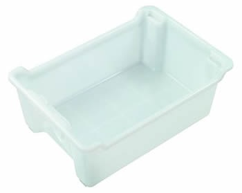 NallyIH090 32ltr Solid Stack and Nest Tub