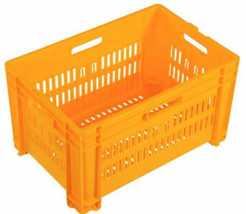 Nally IH098 50 litre vented Stacking Plastic Crate