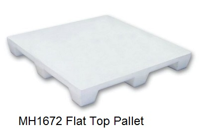MH1672 Flat Top Pallet
