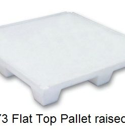 MH1673 Flat Top Pallet Raised edge