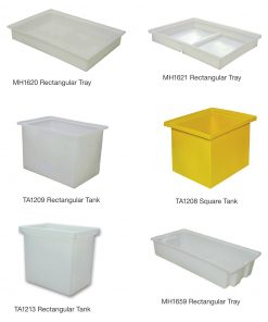 Roto Square rectangular Container