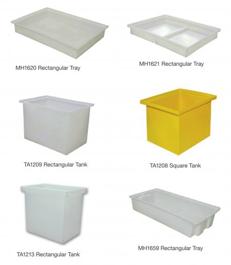 Roto Square rectangular Container