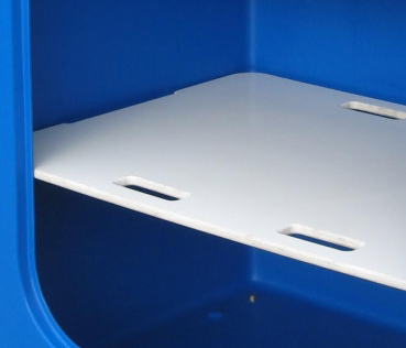 Hygienic, easy-clean Polyethylene Shelves