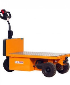 MULE-750HD Powered Platform Truck with electronic control.