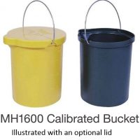 Nally MH1600 Calibrated bucket 25L
