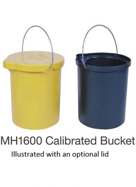 Nally MH1600 Calibrated bucket 25L
