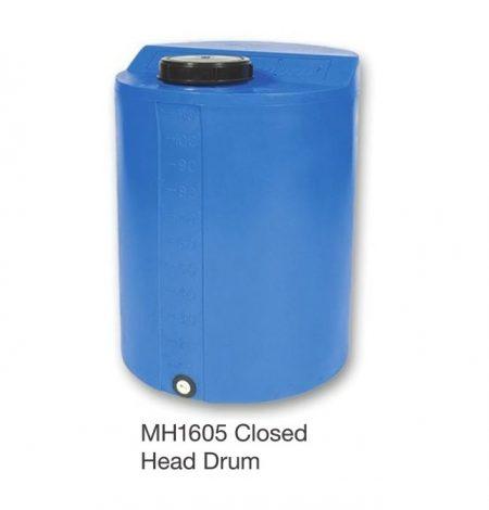 Nally MH1605 Closed Head Drum 125L...