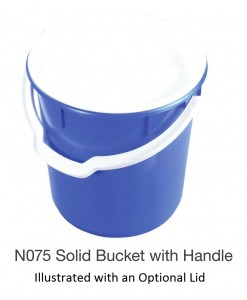 Nally N075 Solid Bucket with Handle