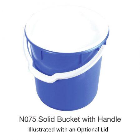 Nally N075 Solid Bucket with Handle