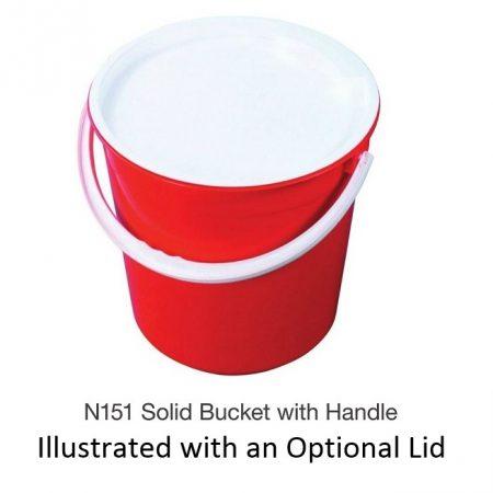 Nally N151 Solid Bucket with Handle