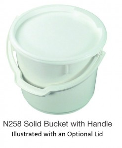 Nally N258 Solid Bucket with Handle