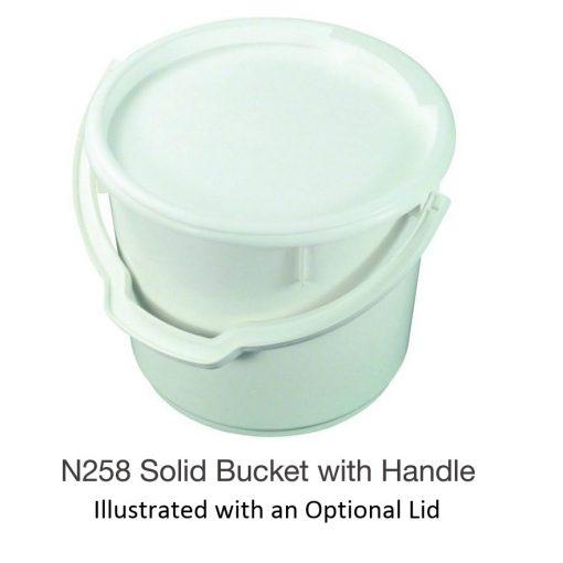 Nally N258 Solid Bucket with Handle