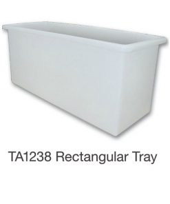 Nally TA1238 Rectangular Tray 990L