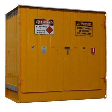 Dangerous Goods Store Pallet- 285x165x270cm