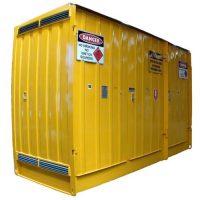 Dangerous Goods Store Pallet- 432x165x270cm (1)