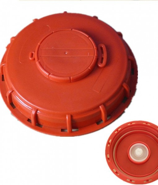 Red- 150 mm vented top lid
