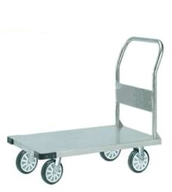Stainless Steel Platform Trolley, 900x600mm, 350kg.