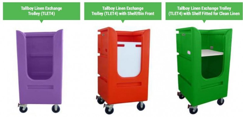 TALLBOY LINEN EXCHANGE TROLLEY 4 (5)