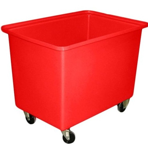 350 litre Tapered Rectangular Tub Trolley
