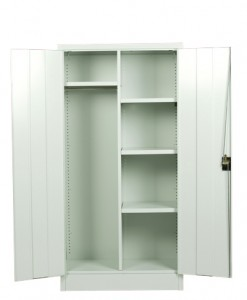 Hinged-Door Cabinet_Combo open