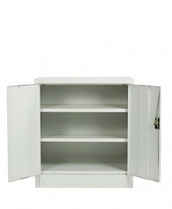 Hinged-Door Cabinet_Executive Open