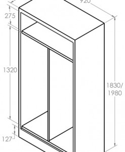 Hinged-Door Cabinet_Personal dimension