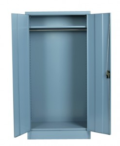 Hinged-Door Cabinet_Storage ward open
